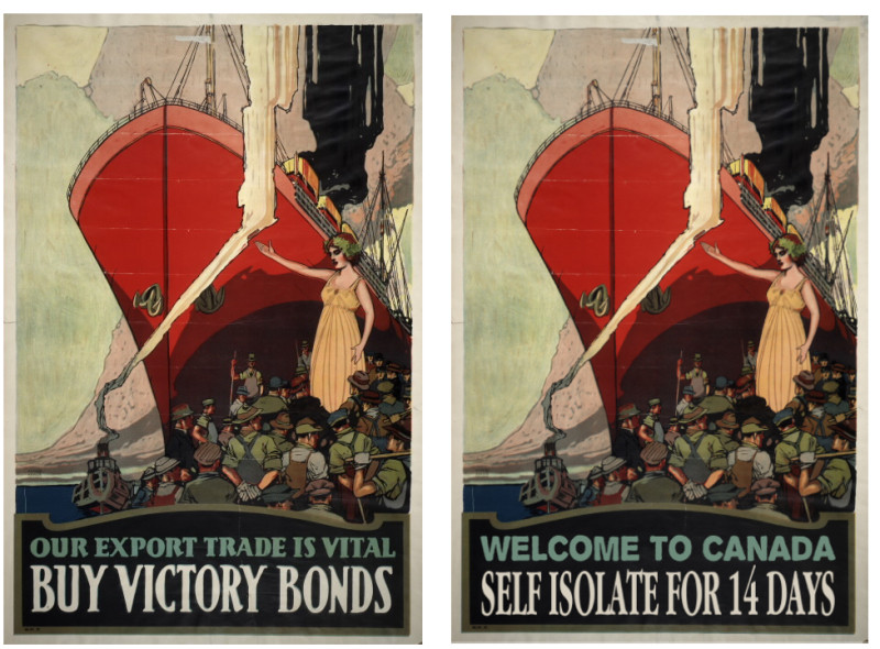 Our export trade is vital buy victory bonds