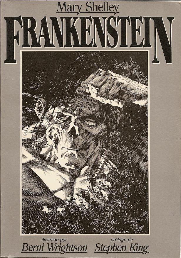 frankenstein book cover designs