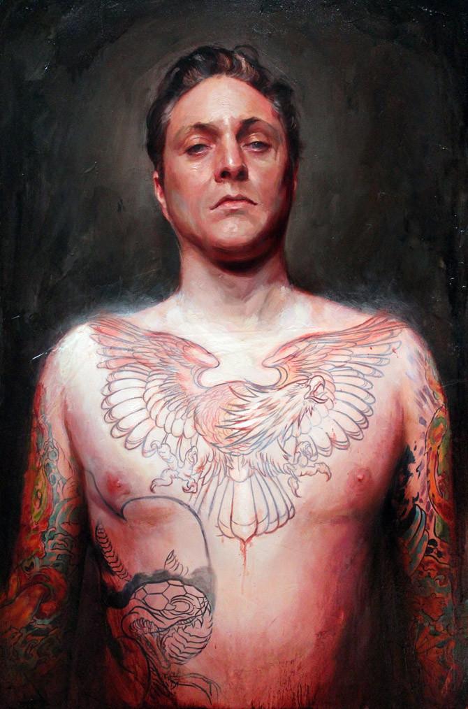 Shawn Barber self portrait