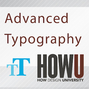Advanced Typography design course