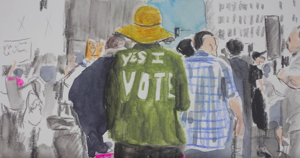Yes I vote Painting