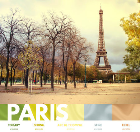 Paris color themes