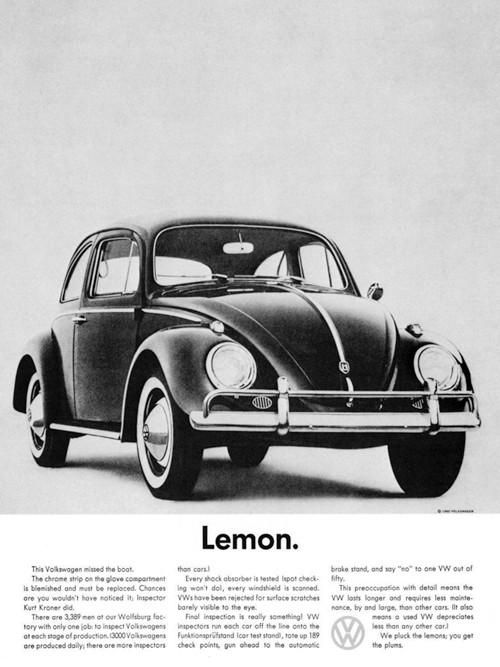 VW - Lemon - 9 X 12