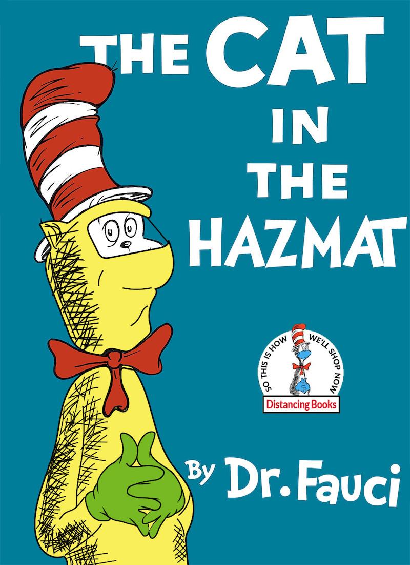 The cat in the hazmat