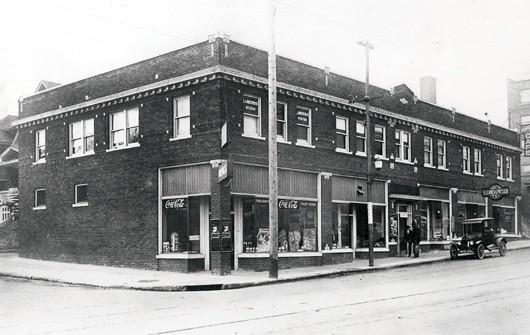 Laugh-O-Grams building in Kansas City circa 1920's.
