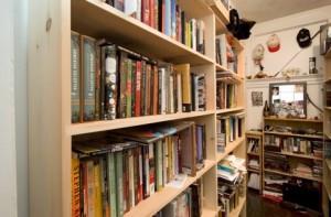 Junot Diaz's bookshelf