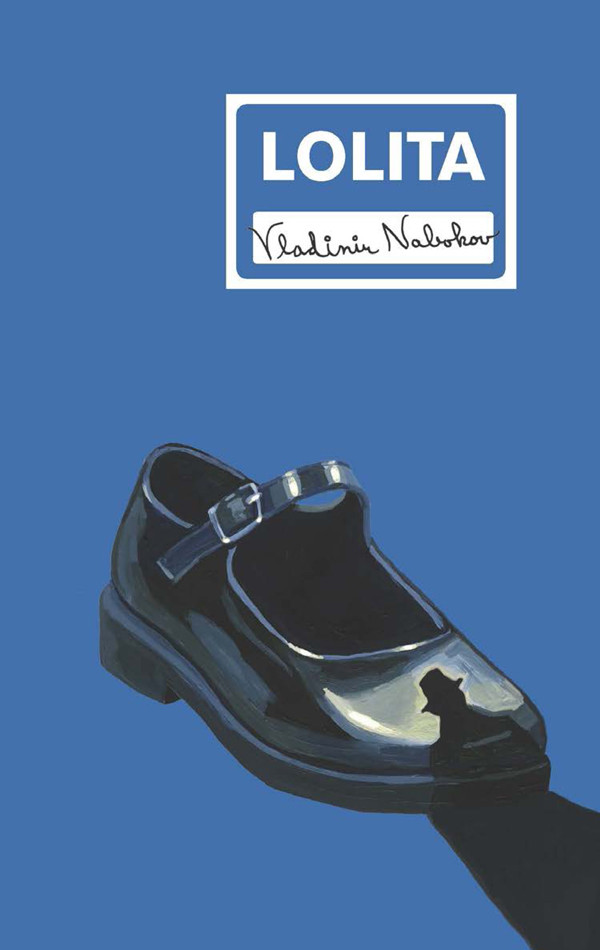 New cover of Nabokov's Lolita by Ellen Lupton