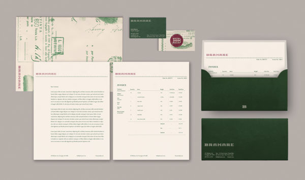Letterhead examples from Scott Dierna