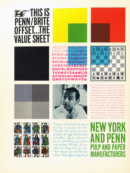 9 design form the 60's