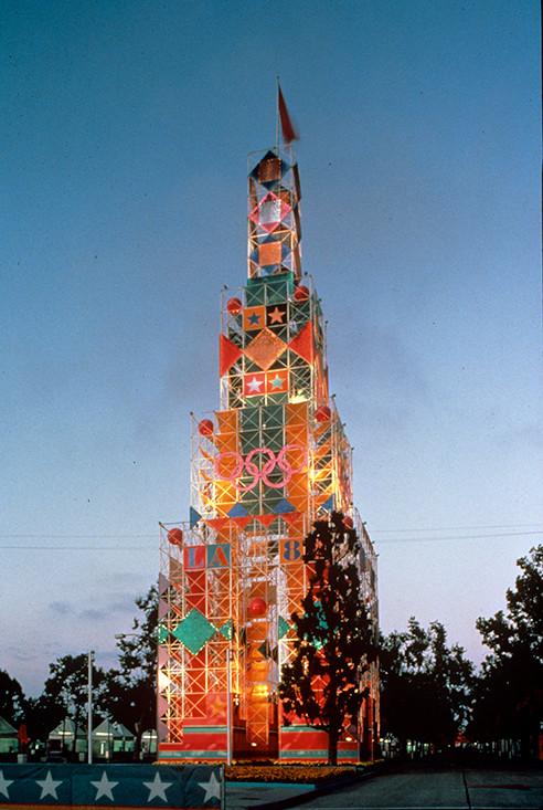 Olympics-Tower Deborah Sussman