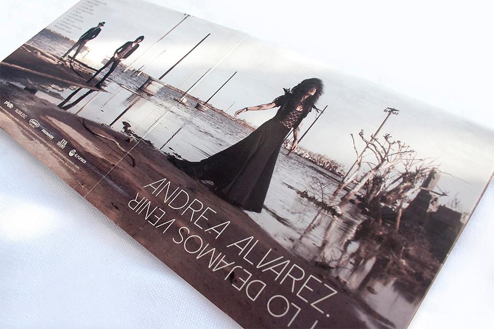 Andrea Alvarez album cover (photography & design)
