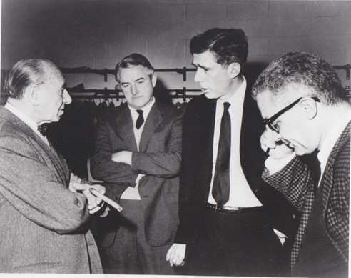 Ladislav Sutnar, Bradbury Thompson, Alvin Eisenman and Paul Rand