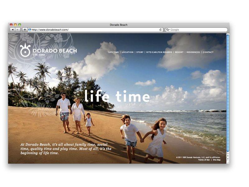 Branding for Dorado Beach by Paddy Harrington / Bruce Mau Design