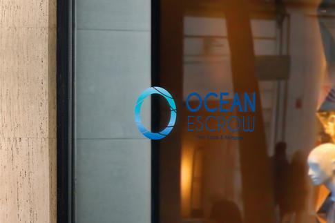 Ocean Logo - Real Estate
