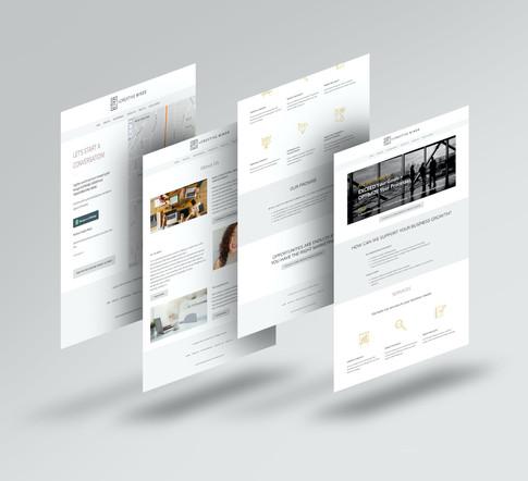Web Design - Positive Creative Minds