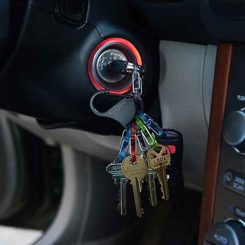 KeyRack Locker - 6 mosquetones con seguro