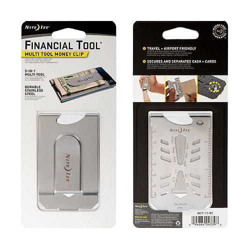 Financial Tool® Multi Tool Money Clip
