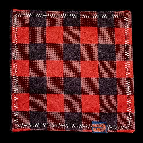 Valkiria Hanks - Red-Black Plaid