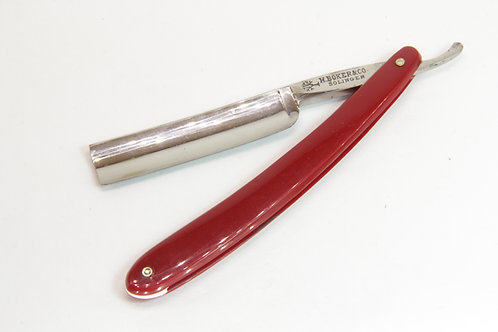Boker Tree Brand Straight Razor Red Handles