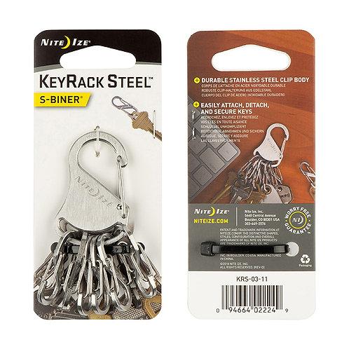 KeyRack Steel™ S-Biner®
