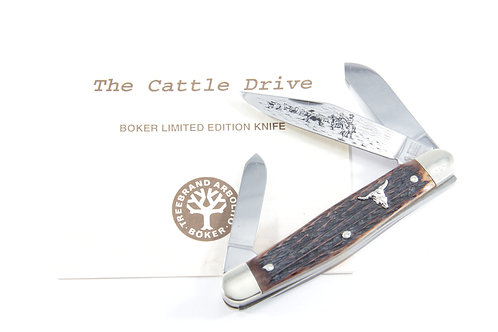 Boker Tree Brand The Cattle Drive