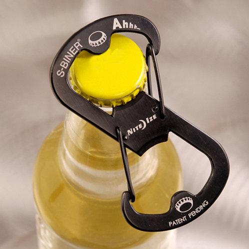 Ahhh... - Abre botellas mosquetón