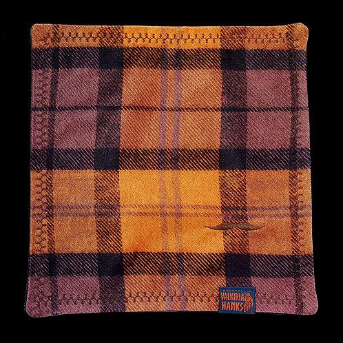 Valkiria Hanks - Orange-Purple Plaid