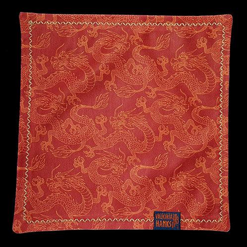 Valkiria Hanks - Chinese red dragon