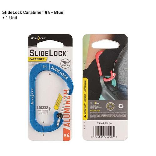 SlideLock Azul - Mosquetón de Aluminio #4
