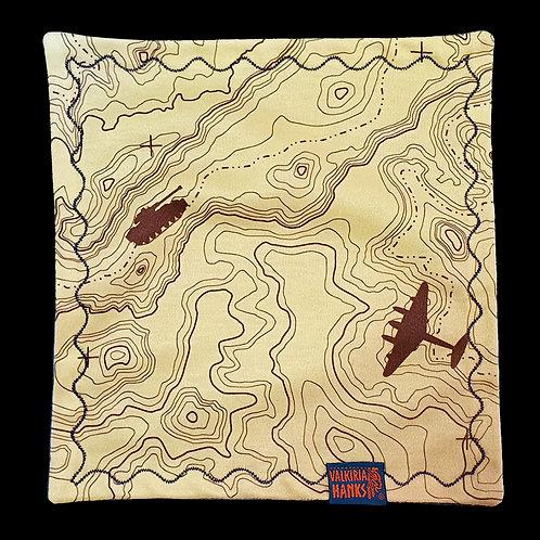 Valkiria Hanks - Topographic desert map