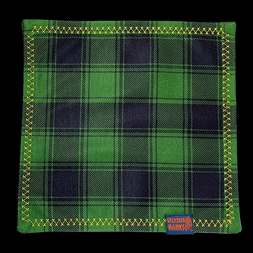Valkiria Hanks - Green-Black Plaid