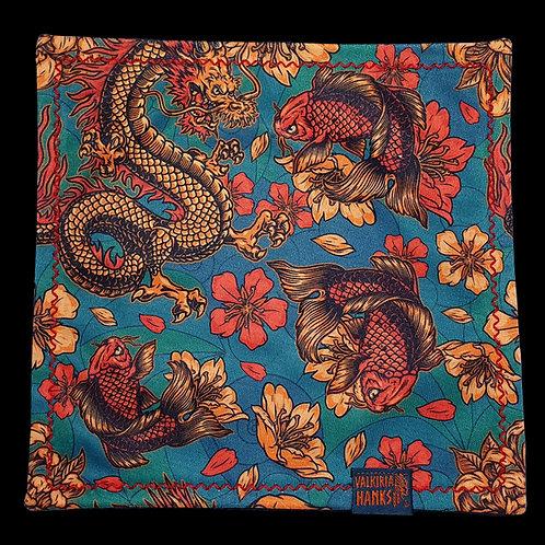 Valkiria Hanks - Goldfish and Dragon