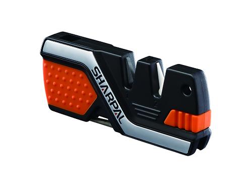 Afilador de cuchillos 6 en 1 y herramienta de supervivencia