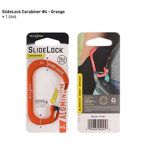 SlideLock Gris - Mosquetón de Aluminio #4