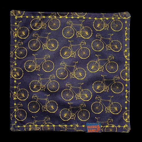 Valkiria Hanks - Yellow bicycle