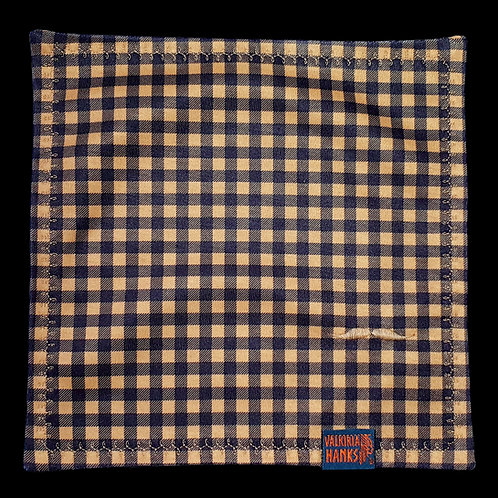 Valkiria Hanks - Brown-Black Plaid
