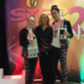 Our ladies had a very successful competition weekend! _Mikayla placed second in her solo of _Lights,