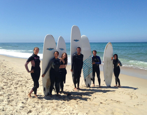 Surf camp host