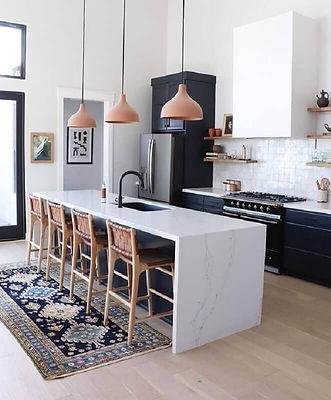 decoração-com-pendentes-para-cozinha-com