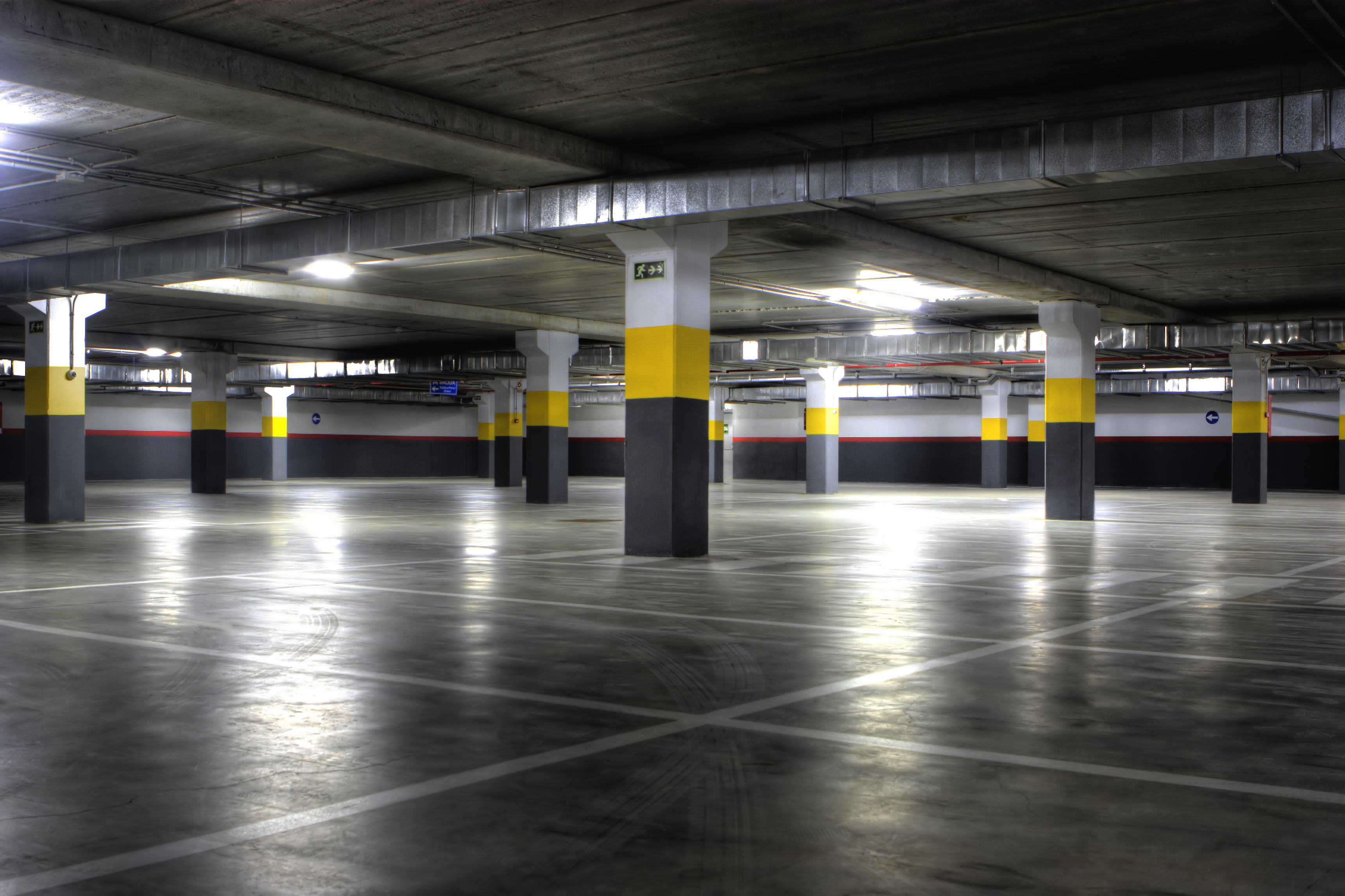 High Pressure Cleaning Gold Coast Basement Carpark 2