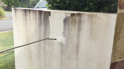 High Pressure Cleaning Gold Coast Wall 1