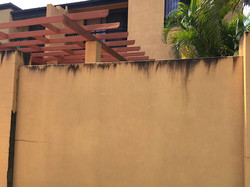High Pressure Cleaning Gold Coast Wall Before 1