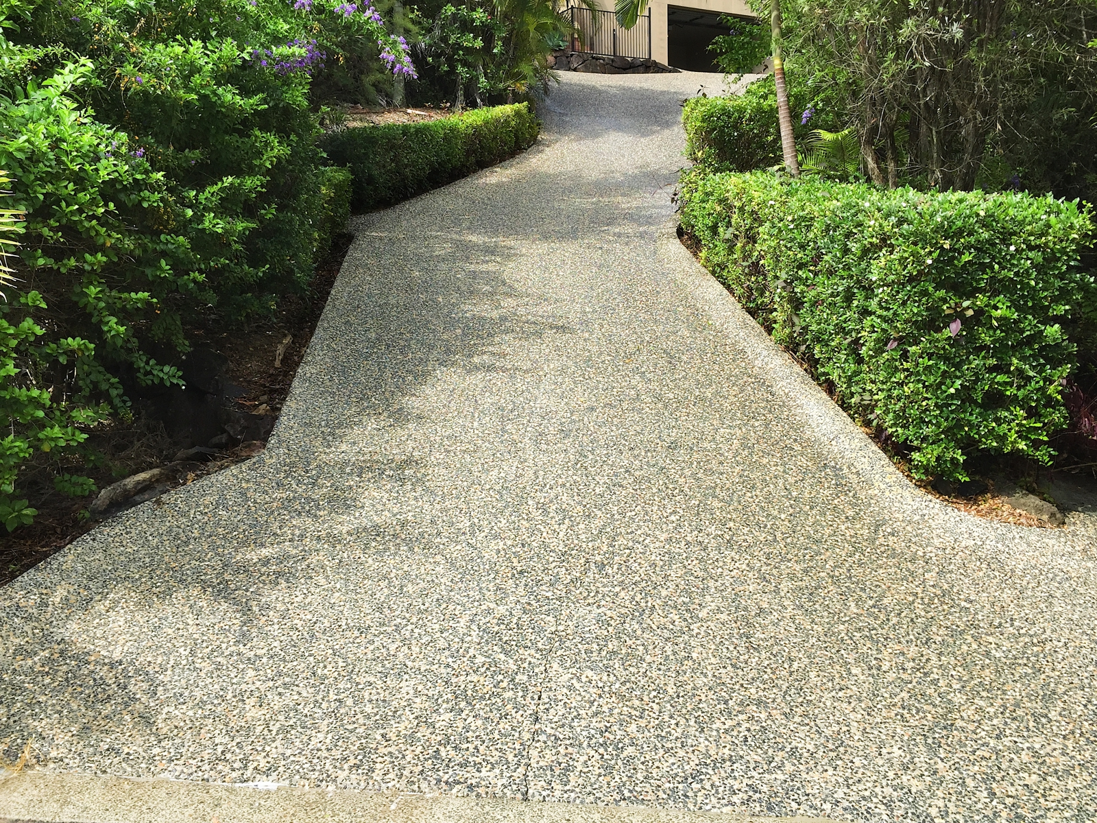High Pressure Cleaning Gold Coast Driveway After 1