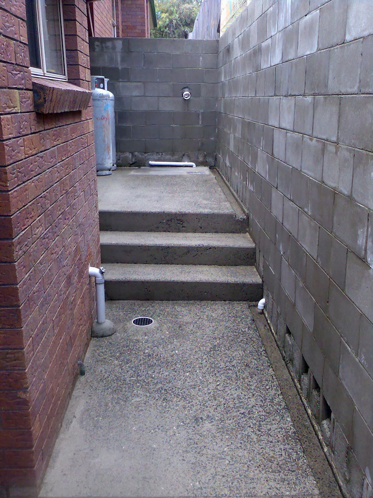 High Pressure Cleaning Gold Coast Steps After 2