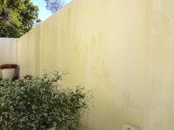 High Pressure Cleaning Gold Coast Wall Before 4