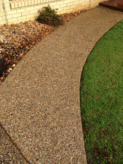 High Pressure Cleaning Gold Coast Pathway After 1