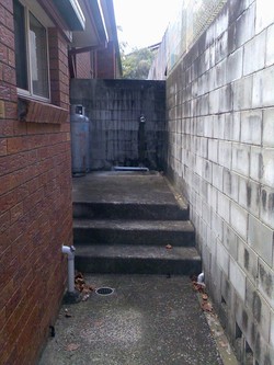 High Pressure Cleaning Gold Coast Steps Before 1