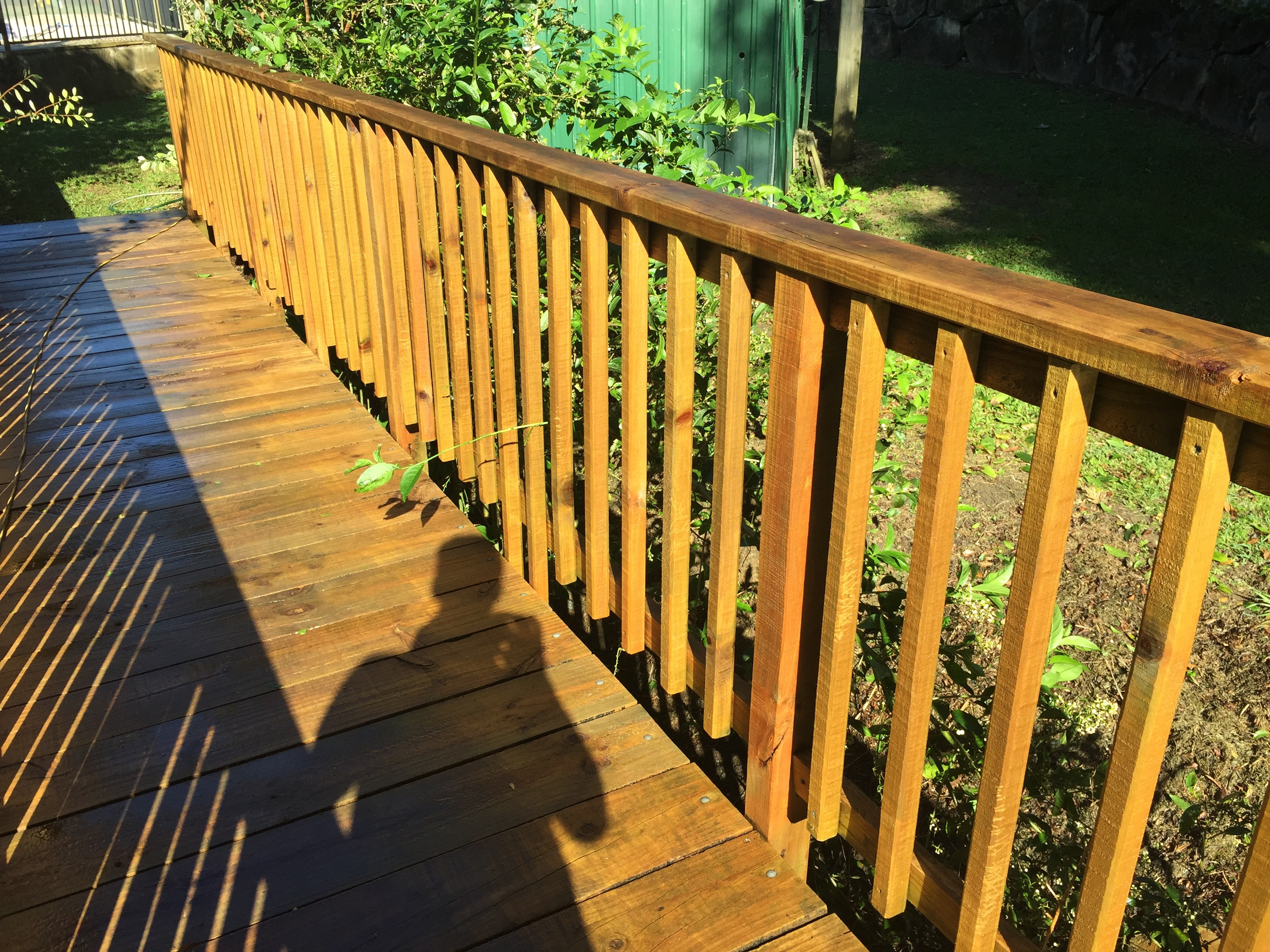 High Pressure Cleaning Gold Coast Timber After 1
