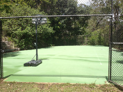 High Pressure Cleaning Gold Coast Tennis Court After 2