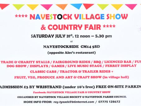Navestock Village Show